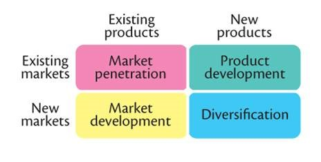 Portfolio Planning: The Product-Market Expansion Grid leads to effective strategies for Growth and Downsizing.