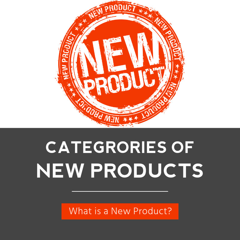 Categories of New Products - What is a New Product?