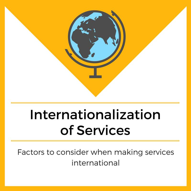 Internationalization of Services - Marketing-Insider.eu