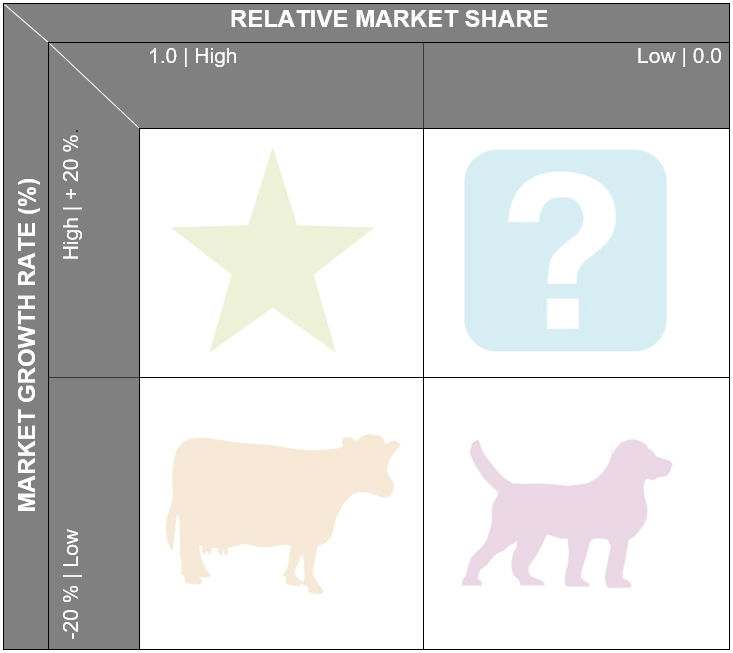 How does the BCG matrix work?