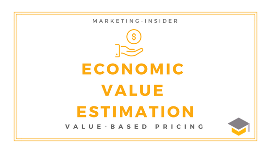 Economic Value Estimation – Value-based Pricing