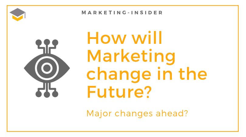 How will Marketing change in the Future?
